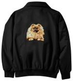 Pomeranian Jacket Back
