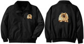 Pomeranian Jacket Back and Left Chest