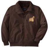 Cocker Spaniel Jacket Front Left Chest