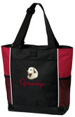Great Pyrenees Tote Font shown on bag is JINGLE