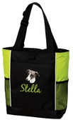 Greyhound Tote Font shown on bag is TWENTY ONE