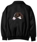 Greyhound Jacket Back