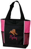 Dogue De Bordeaux Tote Font shown on bag is JINGLE