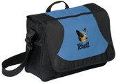Australian Cattle Dog Computer Bag Font shown on bag is JET SCRIPT