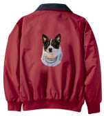 Australian Cattle Dog Jacket Back