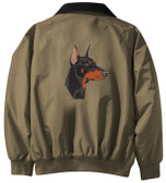 Doberman Jacket Back