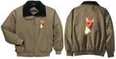 Miniature Pinscher Jacket Back & Front Left Chest