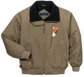 Miniature Pinscher Jacket Front Left Chest