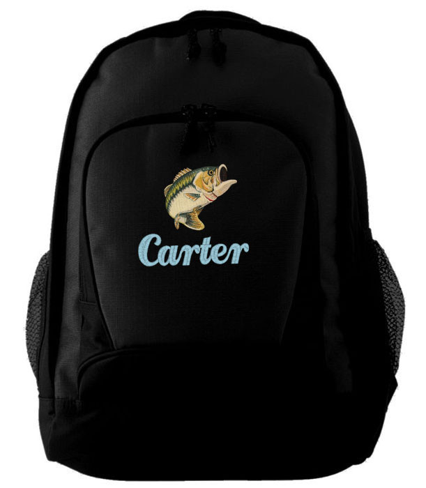 Personalized fishing bass backpack for Bass pro fishing backpack