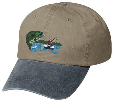 Personalized fishing bass cap for Bass fishing hats