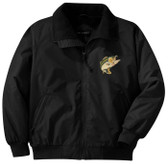 Fishing Bass Jacket Front Left Chest