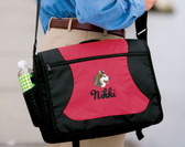 Alaskan Malamute Bag Font shown on bag is LAVERNE