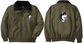 Alaskan Malamute Jacket Back and Front Left Chest