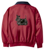 Scottish Terrier Jacket Back