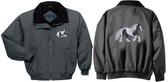 Gypsy Vanner Jacket Back & Front Left Chest
