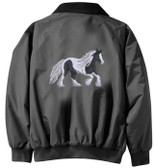 Gypsy Vanner Jacket - Embroidered Back