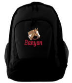 Paint Backpack Font shown on bag is BOOKWORM