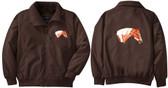 Paint Jacket Back & Front Left Chest