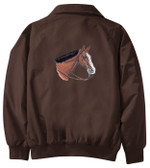 Quarter Horse Jacket Back