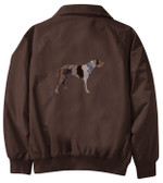 German Wirehair Jacket Back