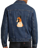 Boxer Denim Jacket Back