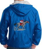 Horse Racing Hooded Jacket