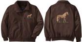 Miniature Horse Jacket Back & Front Left Chest