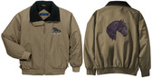 Friesian Jacket Back & Front Left Chest