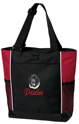 Newfoundland Tote Font shown on bag is Script1