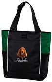 Irish Setter Tote Font shown on tote is Edward Script