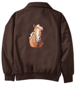 Haflinger Jacket Back