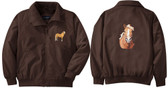 Haflinger Jacket Front & Back