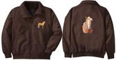 Haflinger Jacket Front & Back