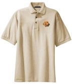Bloodhound golf shirt