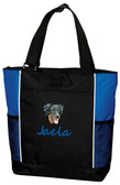 Beauceron Tote Font shown on bag is SEAGULL SCRIPT
