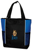 Belgian Tervuren Tote Font shown on bag is IMPERVIOUS