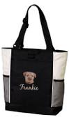 Border Terrier Tote Bag Font shown on bag is TWENTY ONE
