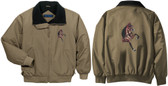 Hackney Jacket Front & Back