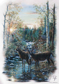 Deer T-shirt - Imprinted Deer