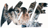 Wolf T-shirt - Imprinted Wolf