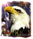 God Bless America T-shirt - Imprinted God Bless America