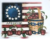 Americana T-shirt - Imprinted Americana