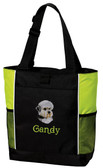 Dandie Dinmont Terrier Tote Bag Font shown on tote is Coopman