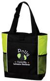 I Love My Labrador Retriever Tote Bag