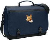 Basenji Messenger Bag