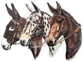 Three Mules
