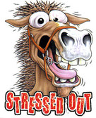 Stressed Out Horse