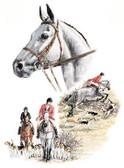 Hunter Jumper T-shirt - Imprinted Horse