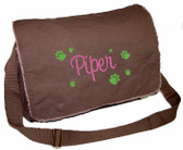 Pawprints Diaper Bag
