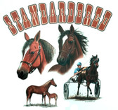 Standardbred T-shirt - Imprinted Standardbred Horse